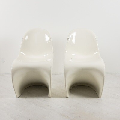 Pair of Verner Panton style chairs from the 70's