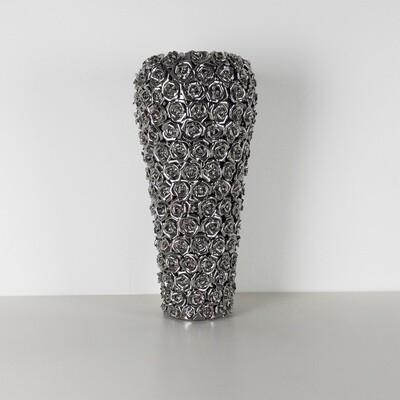 Multi Chrome Rose Vase