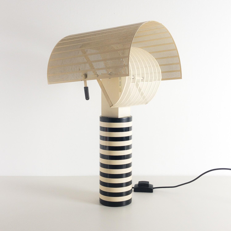 Lampada da tavolo Shogun Artemide Designer Mario Botta 1985