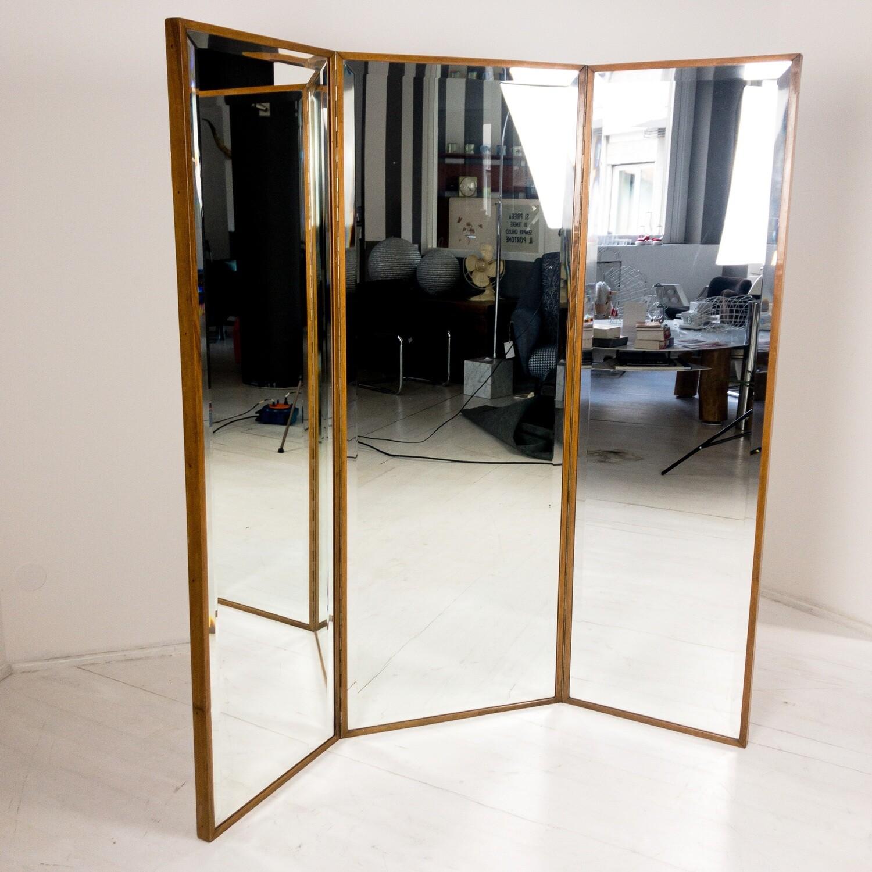 Specchio sartoriale a 3 ante Anni '60