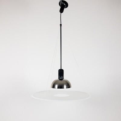 Fresbi 850 suspension lamp, Achille Castiglioni for Flos 1978