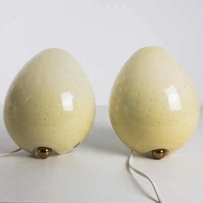 Pair of Murano VeLuce wall lights