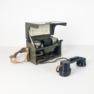 Military field telephone D.MK. VI ° Italian Army