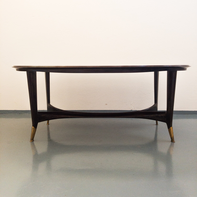 Paolo Buffa style table, Cantù 1950s