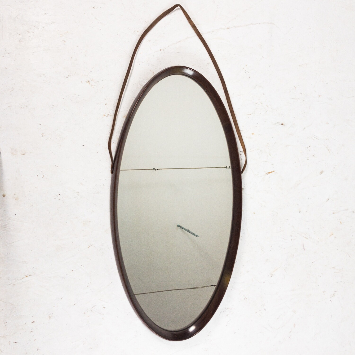 Oval mirror from the 1970s