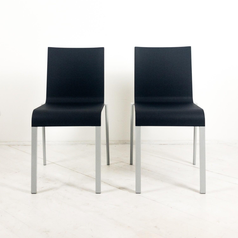 Set of 2 Design Maarten Van Severen chairs for Vitra 1998