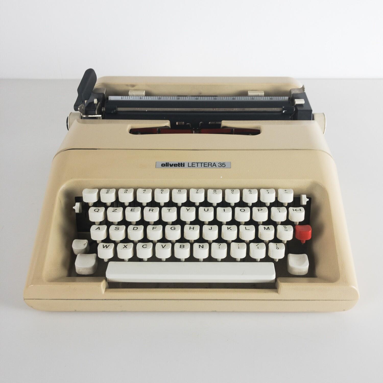 Olivetti Lettera 35 typewriter