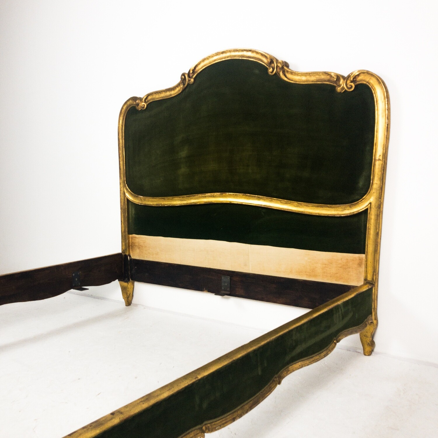 Louis XV style bed