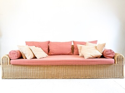 Wicker sofa from the 70s