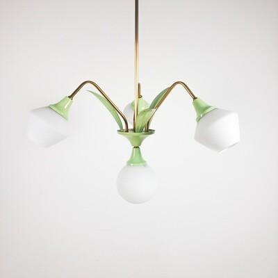 Liberty style suspension lamp