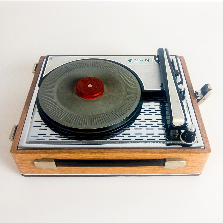 Clan Celentano portable turntable, 1960s