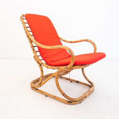 Bamboo armchair, Vittorio Bonacina, Italy 1972