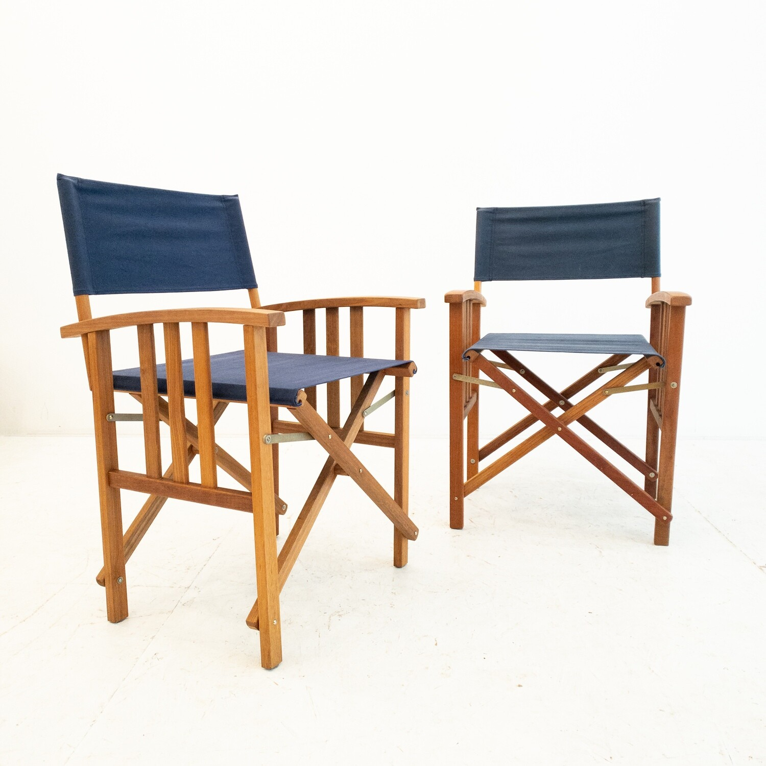 Pair of director's chairs