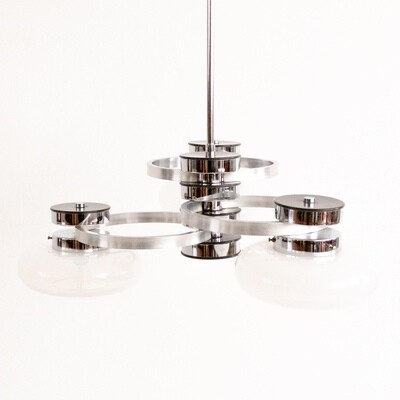Suspension lamp with 3 light points