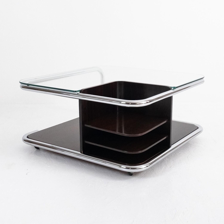 Tavolino portariviste quadrato, anni '60