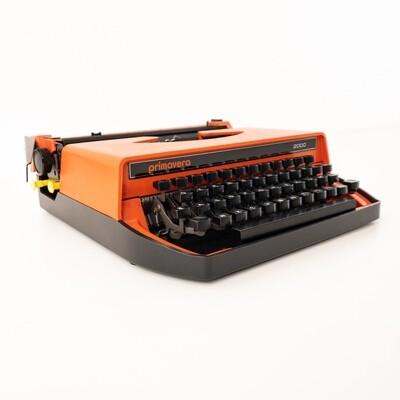 Spring 2000 typewriter Made in Italy
