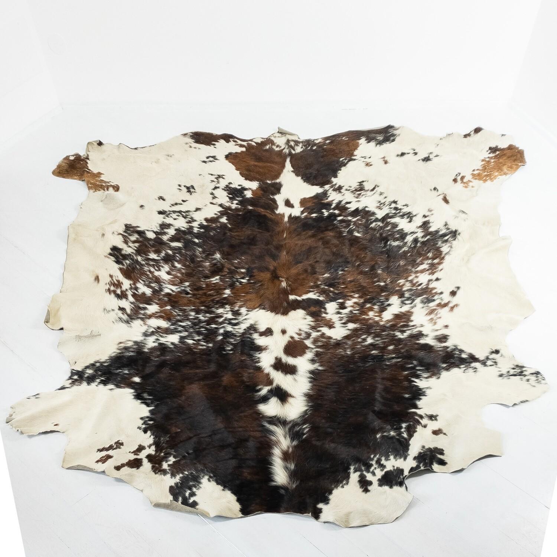 Cowhide rug, 1970s.