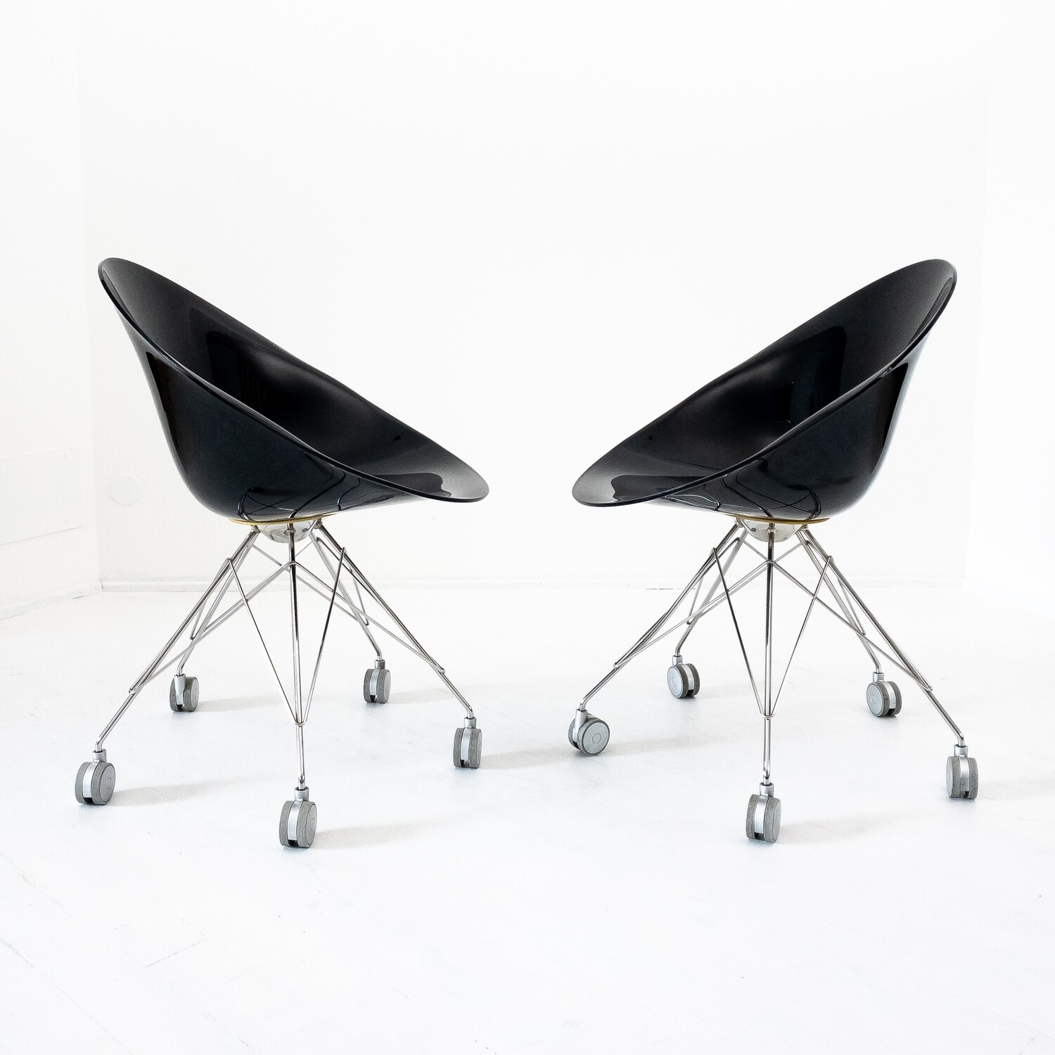 Eros chair by Kartell by Philippe Starck