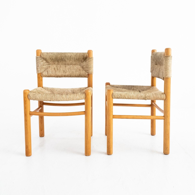 Set di 2 sedie nello stile di Charlotte Perriand