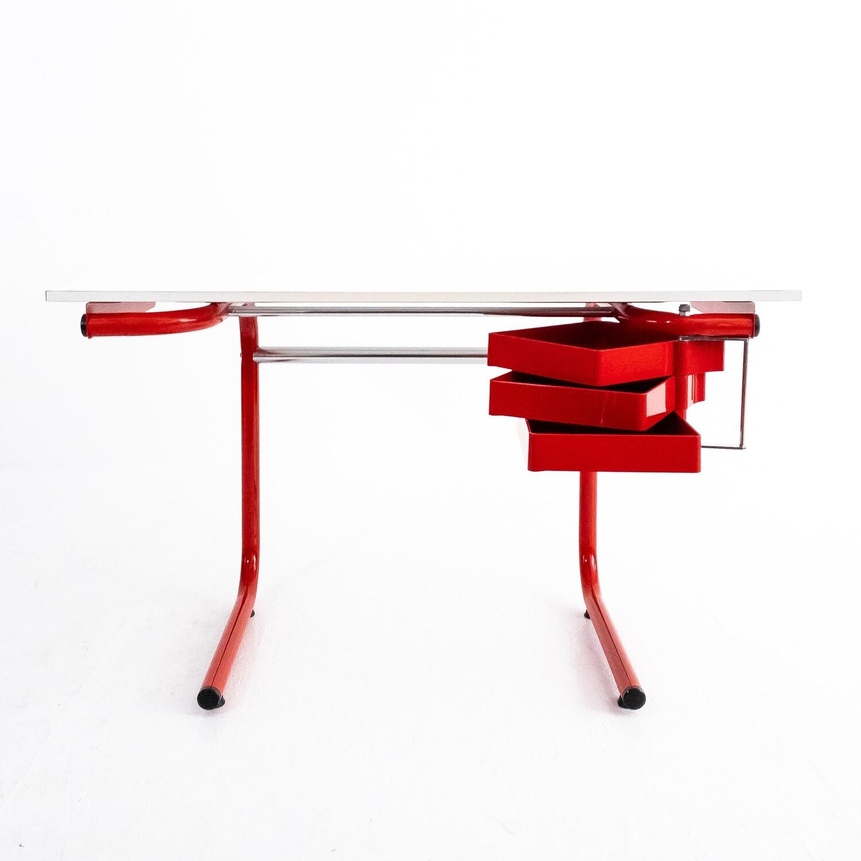 Tavolo da studio e da disegno Pupil, design Anna Ferrarese Anselmi per Bieffeplast, Italia 1976