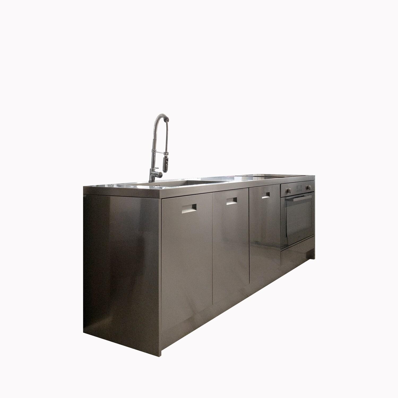 Atena GPS Inox modular kitchen
