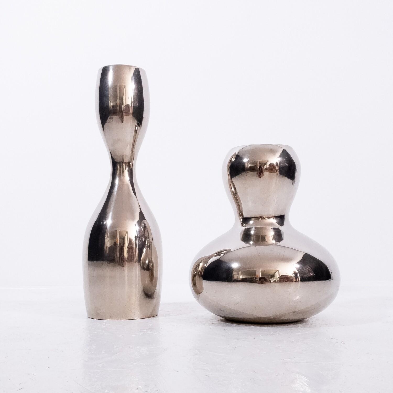 Low Bombe vase