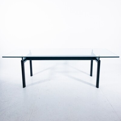 LC6 dining table by Le Corbusier for Cassina
