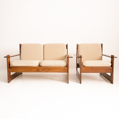 Lounge in the style of Afra and Tobia Scarpa