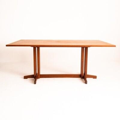 Teak dining table by Ilmari Tapiovaara for Permanente di Cantù, 1960s