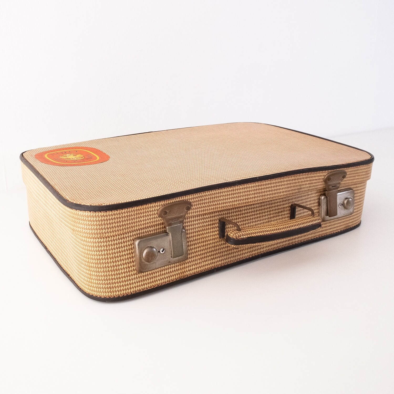 Vintage Chicken Foot Suitcase