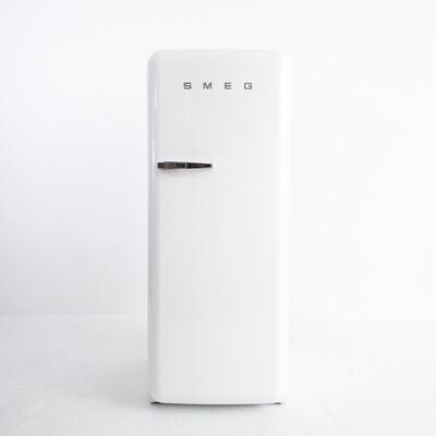 Smeg single door refrigerator with freezer