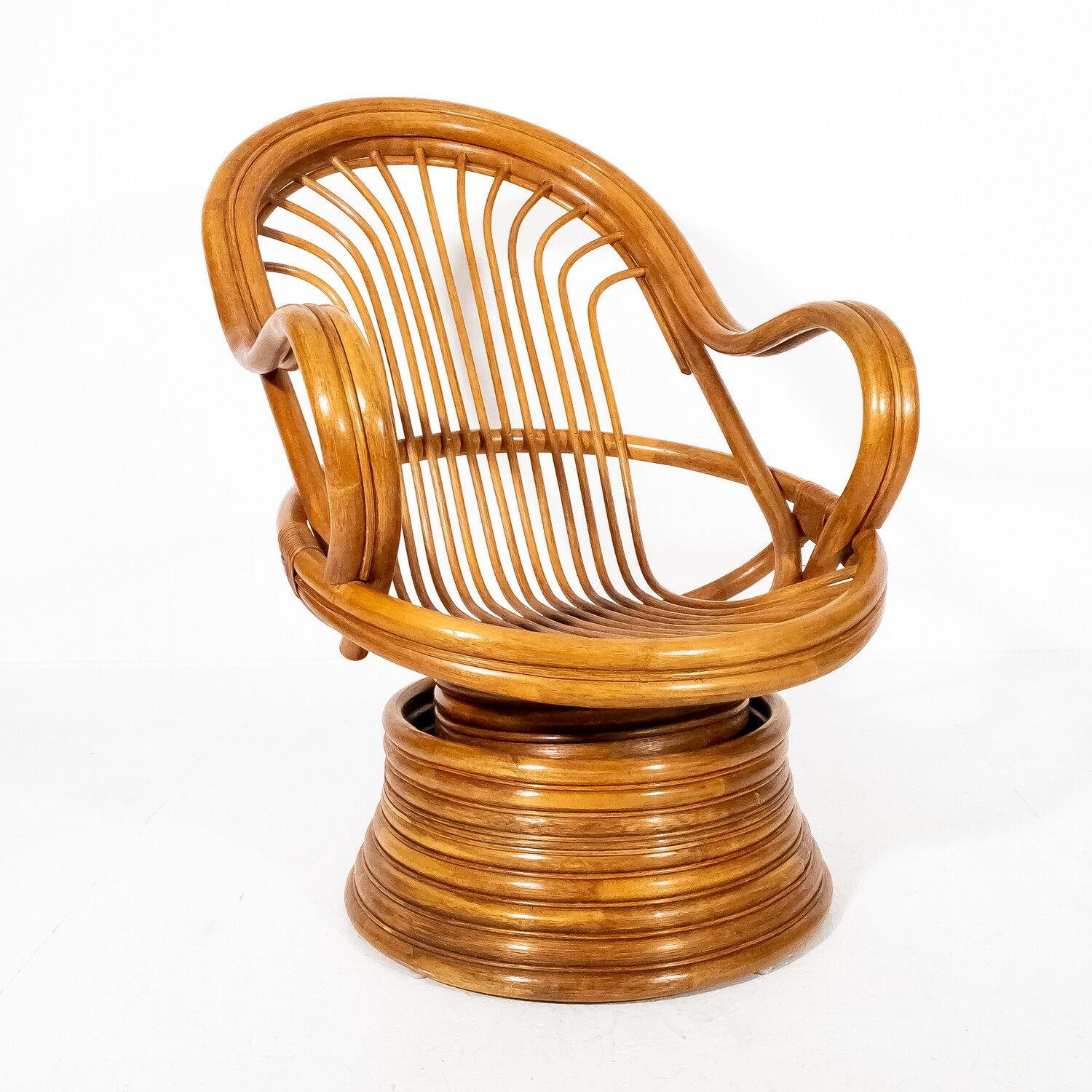 Rocking chair in bamboo