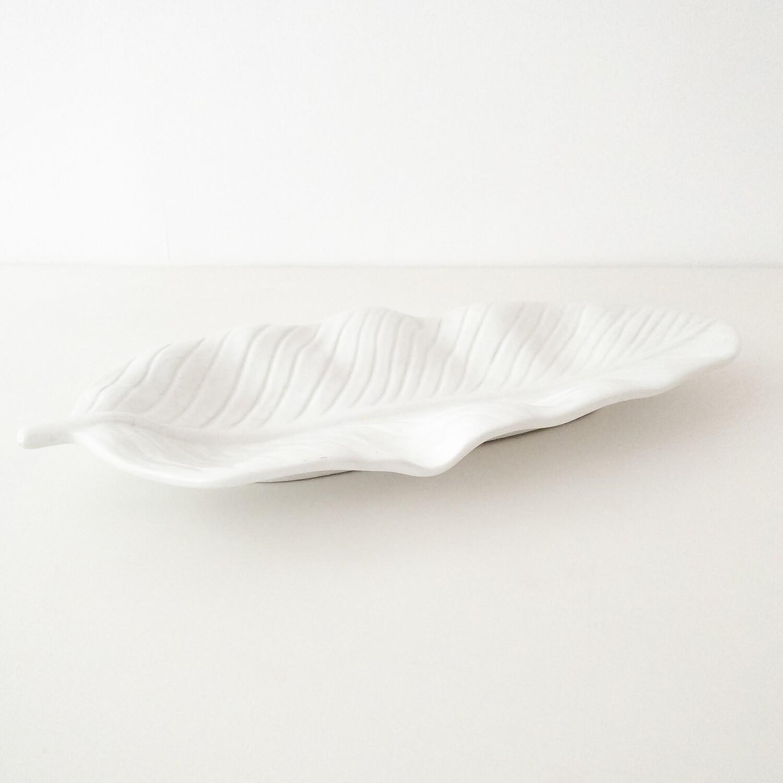 Foglia svuota tasche in ceramica