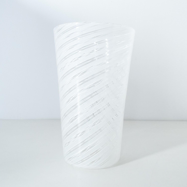 Murano glass vase by Paolo Venini for Venini