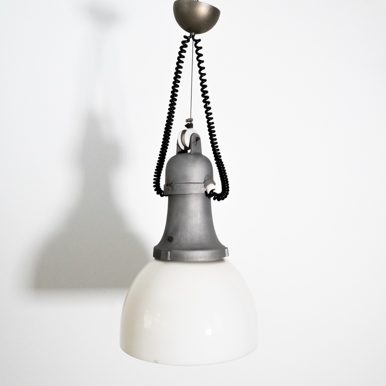 Industrial style street lamp, 1960s
