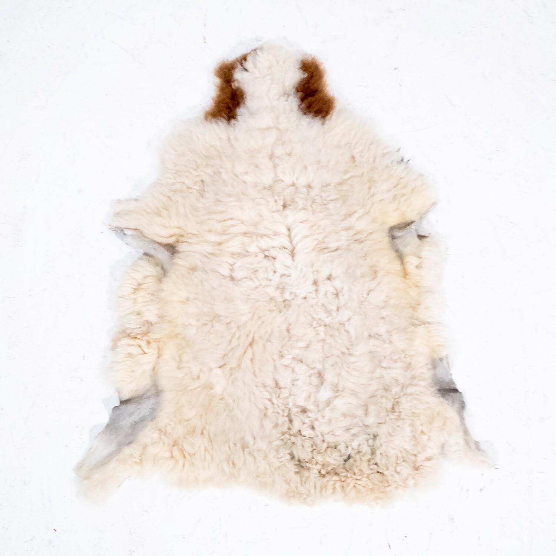 Lambskin rug, 1970s