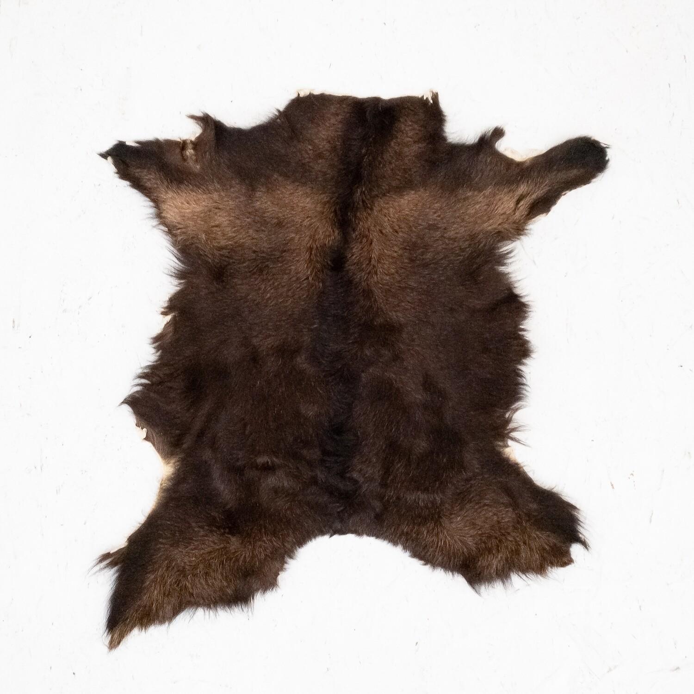 Goatskin rug, 1970s