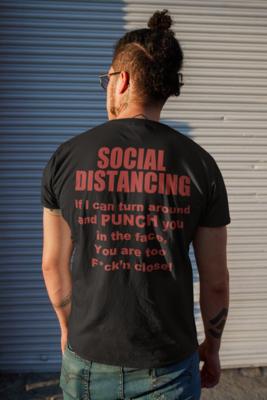 Social Distancing Short Sleeve Tee