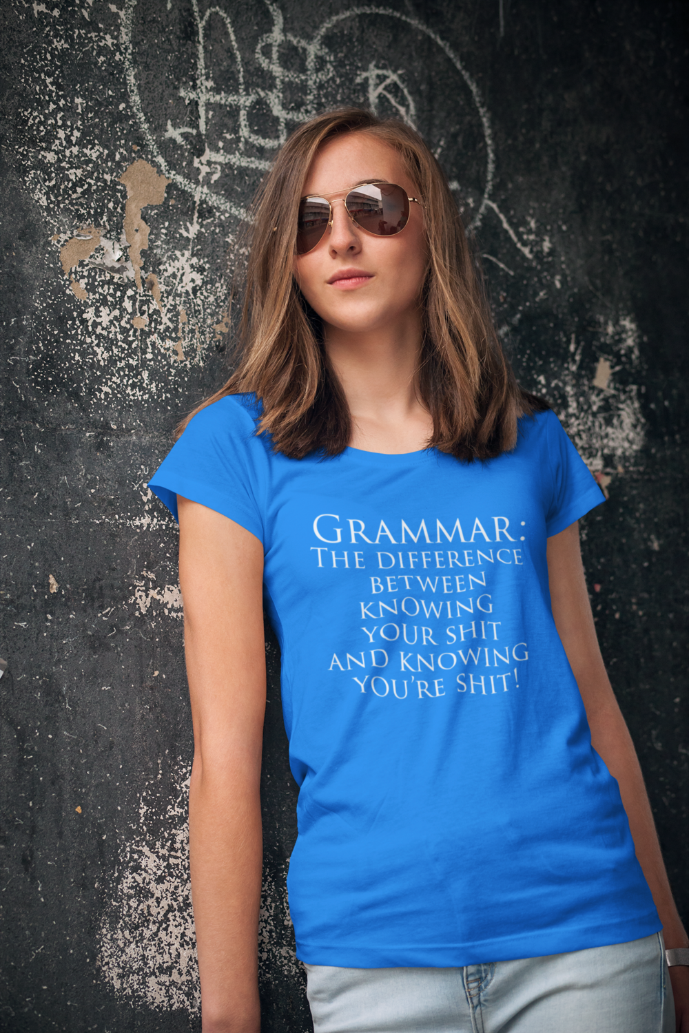 Grammar, It's Important Short Sleeve Ringspun Cotton Tee