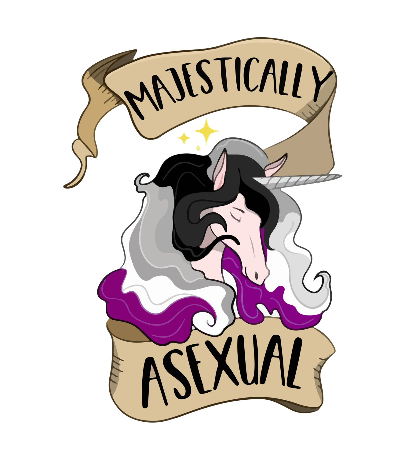 Majestically Asexual