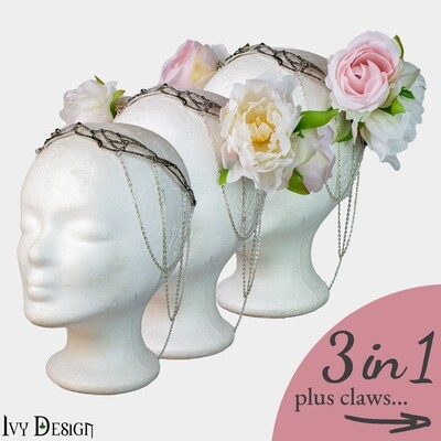 'Eldrin' Headpiece and Claw-Set // 3 in 1 🌹⁠