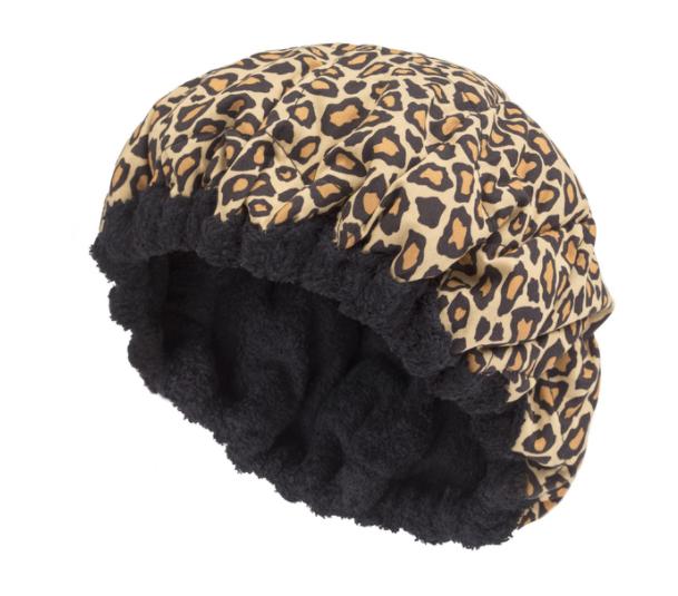 Hot Head Thermal Heat Cap- Cheetah Print
