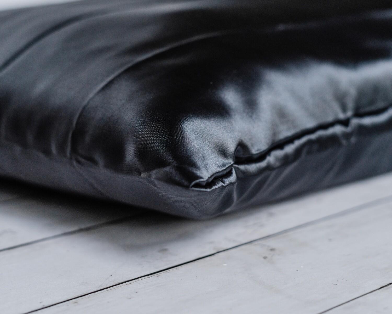 Satin Pillowcase-Black