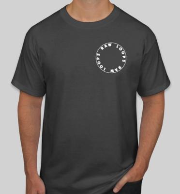 Raw Loops T-Shirt (Black)