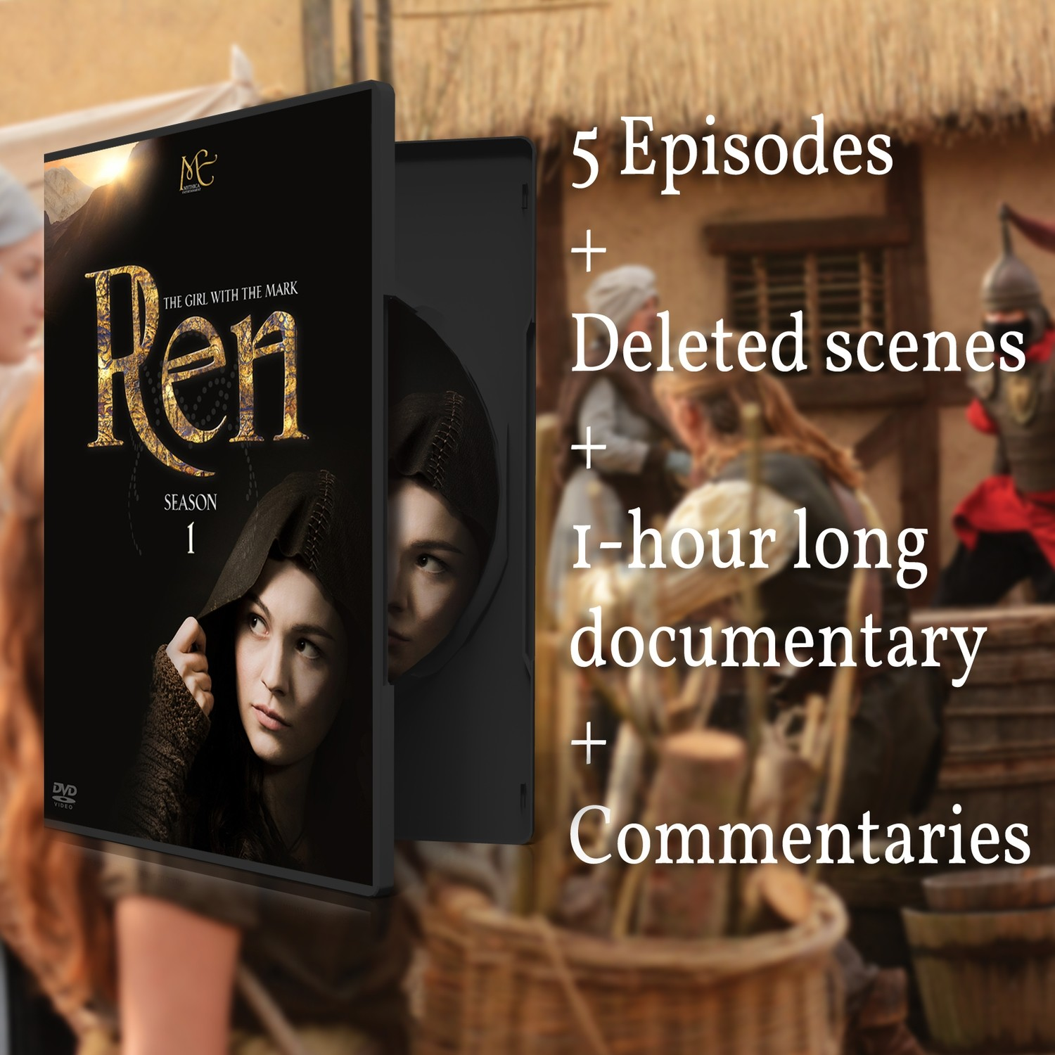 Ren: The Girl with the Mark DVD