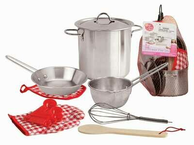 Stainless Steel Cooking Play Set