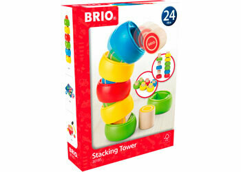 BRIO Stacking Tower with Rings
