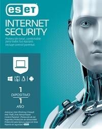 Antivirus ESET Internet Security - 1 Año