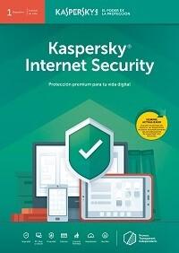 Antivirus Kaspersky Internet Security - 1 Dispositivo -  2 o 3 años
