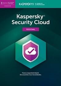 Antivirus Kaspersky Security Cloud - Personal - 3 Dispositivos , 2  o 3 años